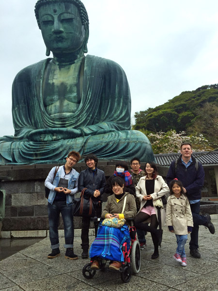 LC Group at Daibutsu